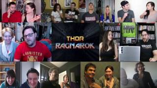 Thor Ragnarok Teaser Trailer - Couples Reaction Mashup
