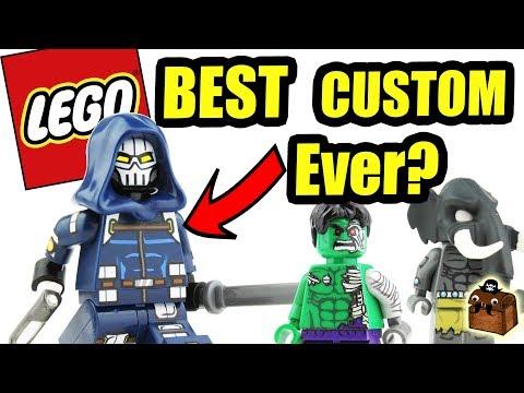 LEGO Marvel Super Heroes 2 Custom Minifigures 2017