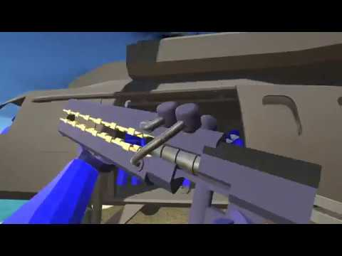How to get the secret railgun + cutscene : Ravenfield
