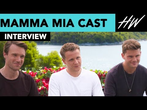 Mamma Mia Cast, Jeremy Irvine Reveals BTS Moments & Josh Dylan Gets Stranded On Island?! | Hollywire