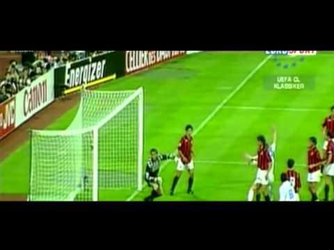 1993 Olympique Marseille v  AC Milan  1 0
