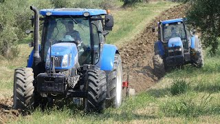 NEW HOLLAND T7.200 | NEW HOLLAND T6.165 | NEW HOLLAND TM120 | ANGELONI PLOWS | ROTELLI GROUP