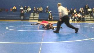 High school wrestling Major Labon pin over hillsbo