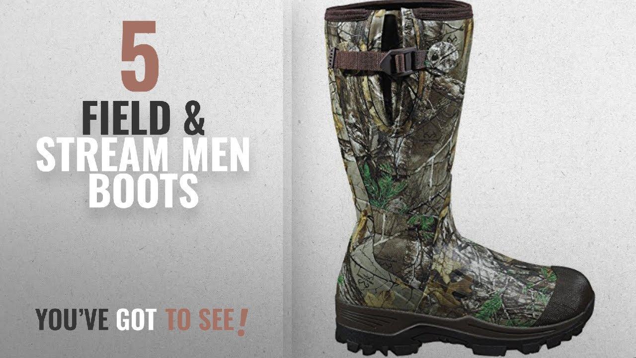 58615817a31 Top 10 Field & Stream Men Boots [ Winter 2018 ]: Field & Stream Men's  Swamptracker Realtree Xtra