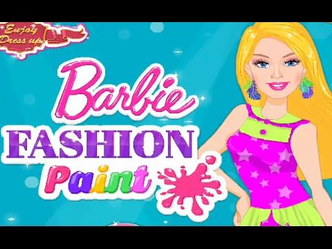 barbie barbie moda colorida ~ juegos de barbie en español 2016