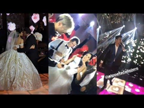 La boda de Yubelkis Peralta con Miriam Cruz, El Poeta Callejero, Lo Blanquito