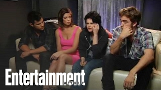 Kristen Stewart, Robert Pattinson, Taylor Lautner Interviewed at Comic-Con 09 | Entertainment Weekly
