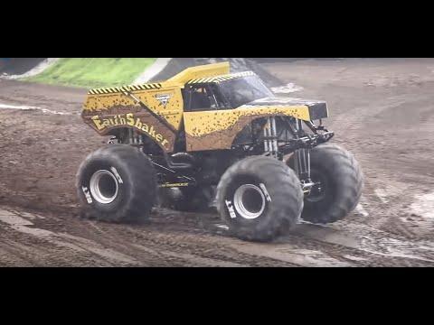 FULL RUN EarthShaker Monster Jam Truck...