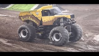 Awesome Freestyle from EarthShaker Monster Jam Truck driver Peter N...