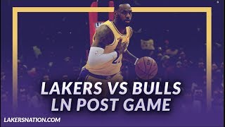Lakers discusso: beat the bulls, andre ingram joins team, lebron dunks