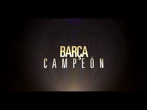 Barça Campeón de Liga 2014 - 2015