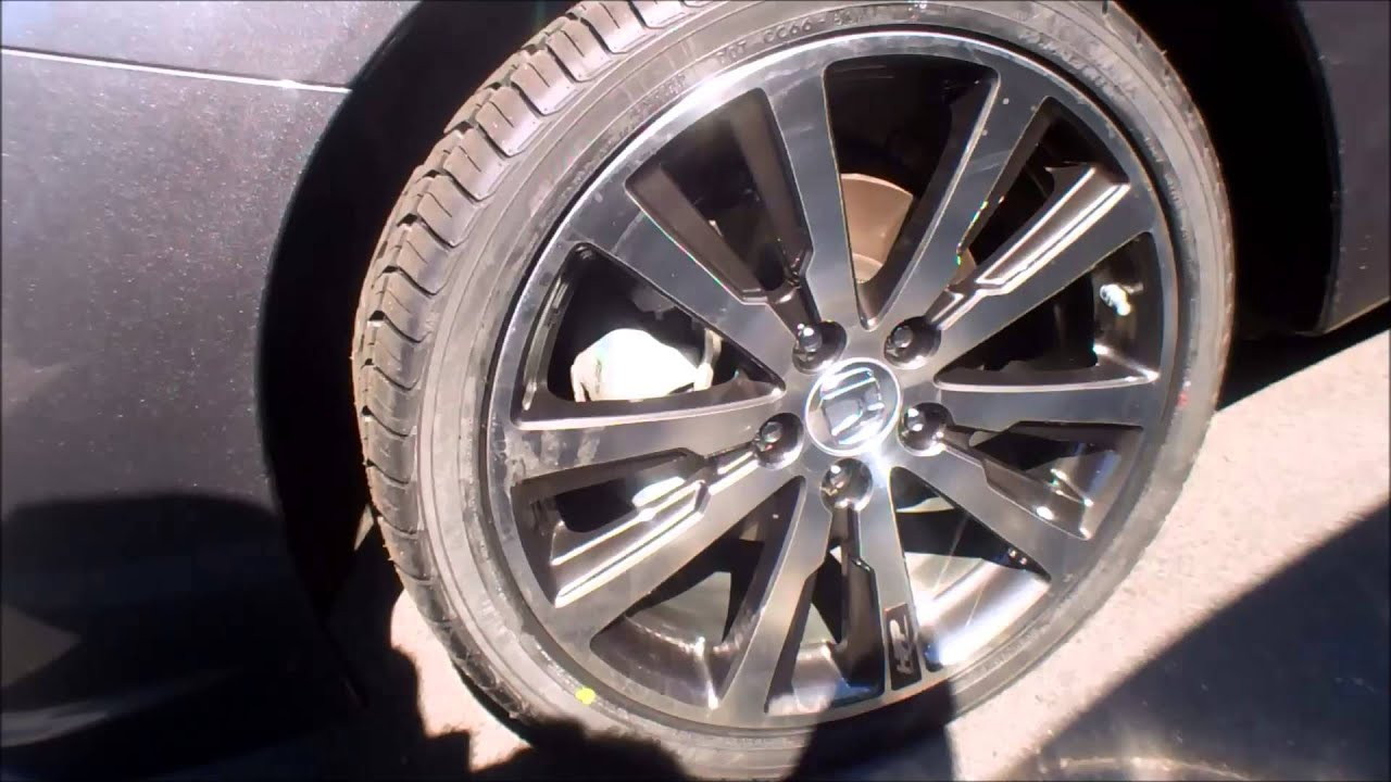 2013 Honda Civic 18 Inch Hfp Wheels Youtube
