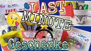 LAST MINUTE GESCHENKE DIY Vatertag Geburtstag Freundin/Freund  coole Mädchen