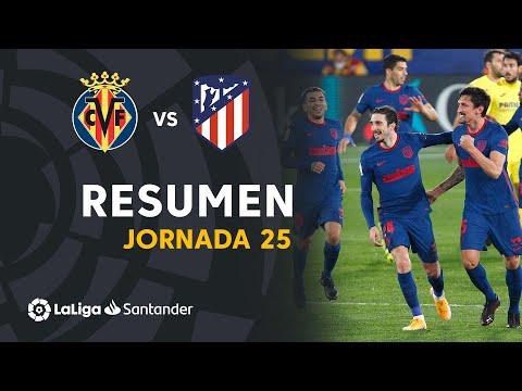 Resumen de Villarreal CF vs Atlético de Madrid (0-2)