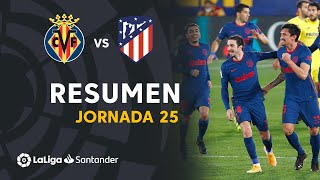 Resumen de Villarreal CF vs Atlético de Madrid (0-2)