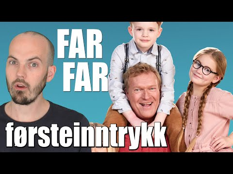 FARFAR - Sven Nordin i ny komiserie på TV2! FØRSTEINNTRYKK