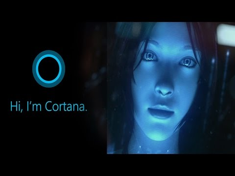 LET'S HAVE A LITTLE CHAT | Cortana (Winows 10 PC)