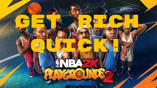 NBA 2K Playgrounds 2 How to get Players and Money FAST!