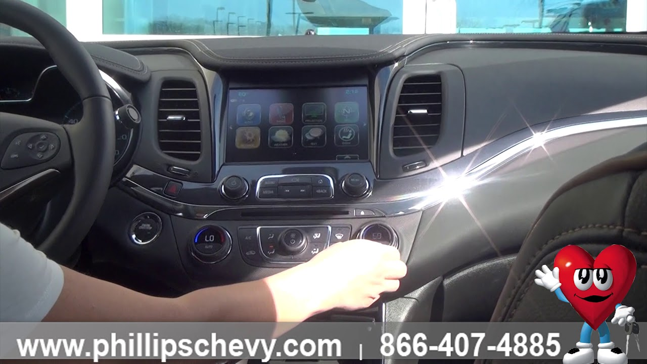hight resolution of phillips chevrolet 2018 chevy impala interior chicago new car dealership