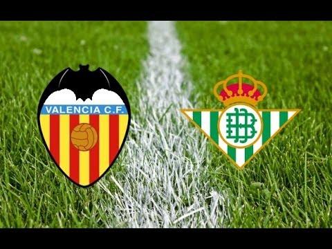 Valencia 5-0 Real Betis (1st Half)