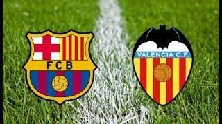 Барселона - Валенсия прямая трансляция Чемпионат Испании