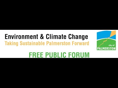 Environment and Climate Change Workshop City of Palmerston 2015