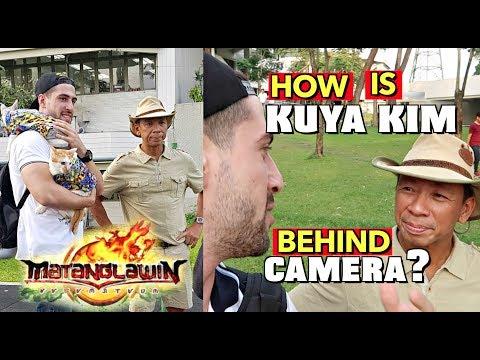 Kuya Kim's Real Attitude OFF-CAM.. 🤔 Shooting for ABS-CBN (Matanglawin)
