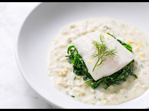 Poached Turbot With Fennel Velouté By Galton Blackiston