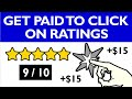 Get Paid To Click On Ratings ($15 Each) FREE Make Money Online | Branson Tay
