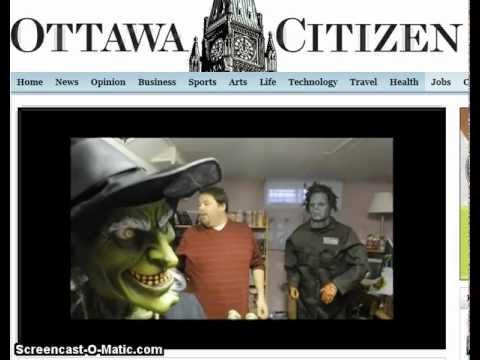 Newspaper Ottawa Citizen interview 2011