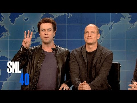 Weekend Update: Matthew McConaughey and Woody Harrelson - Saturday Night Live