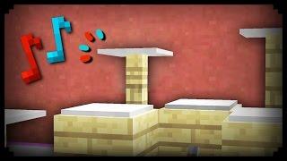 ✔ Minecraft: How to make a Working Drum Set
