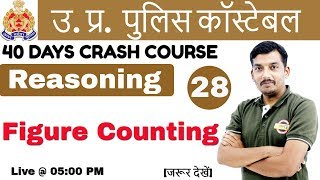 Class 28 | UP POLICE CONSTABLE | 49568 पद I Reasoning By Anil sir | Figure Counting