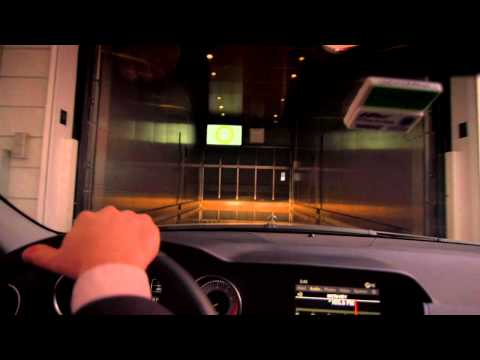 WallStreet Journal Mansion- Car Elevator
