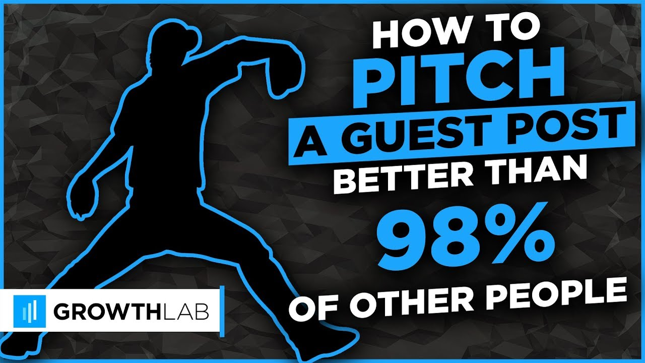 How to pitch a guest post better than 98% of other people (1/2)