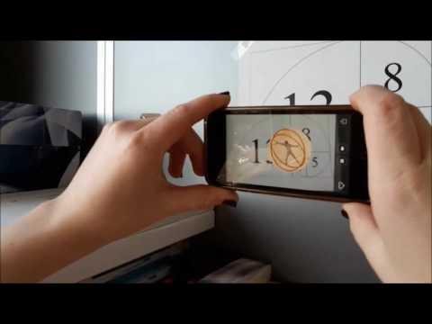 Aurasma App. in mathematics class