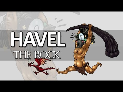 Dark Souls Lore - Havel the Rock