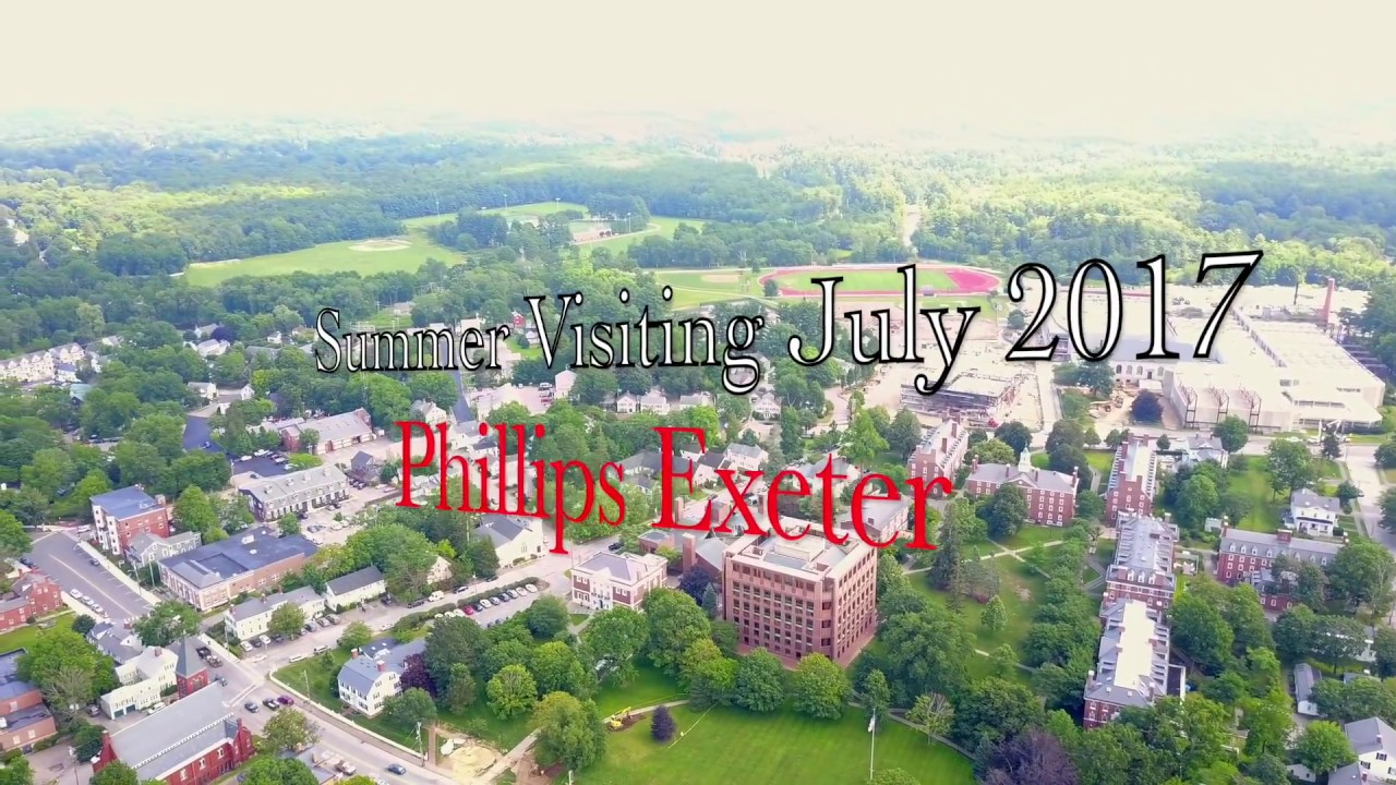 Phillips Exeter Academy Campus Map.Drone Video Phillips Exeter Academy Youtube