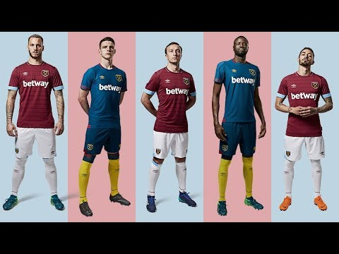 INTRODUCING THE 2018/19 WEST HAM UNITED HOME & AWAY KITS