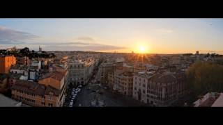 Sunset of Rome:Time-lapse 日落羅馬時