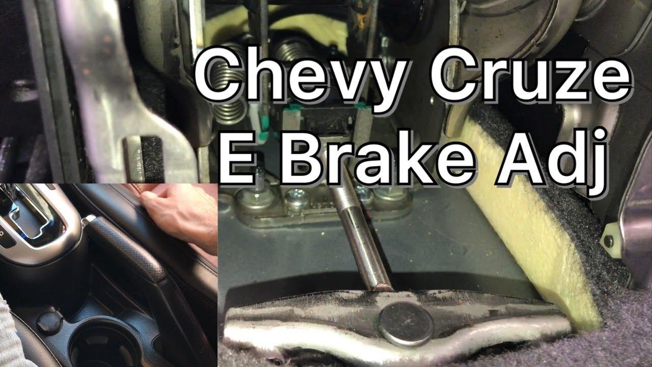 Chevy Cruze E / Parking Brake Adjustment