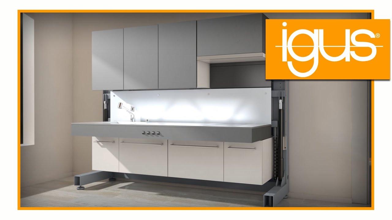 Bewegliche Küchenmöbel   Ruhig Und Wartungsfrei
