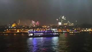 Happy New Year 2019 - Istanbul, Turkey 🇹🇷⚓⛴🍾✨