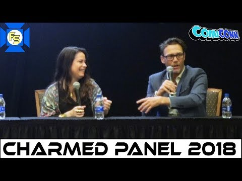 Charmed Panel (Holly Marie Combs, Brian Krause) - ComiCONN 2018