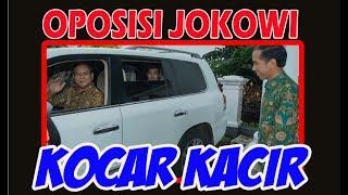 WOW  AKHIRNYA Oposisi Jokowi kocar kacir