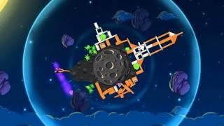 """Angry Birds Space PC - Прохождение(часть 1) Планета """"Pig Bang"""""""