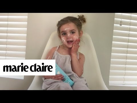 This Baby Takes Skincare Very Seriously | Marie Claire
