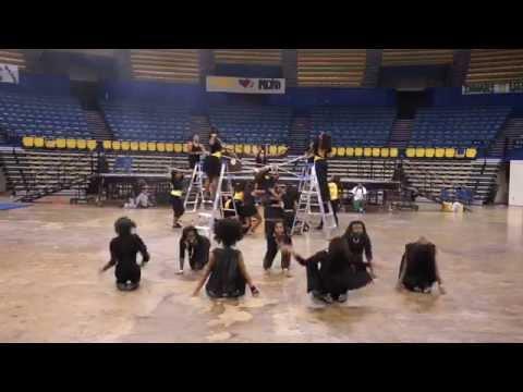 Scotlandville Magnet High School Cheerleaders... Beyonce'- Who runs the world