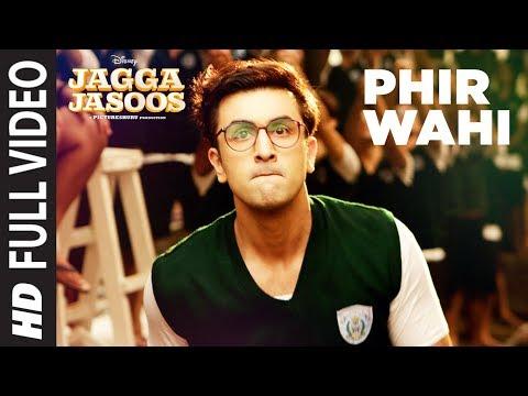 Jagga Jasoos: Phir Wahi Full Video Song | Ranbir, Katrina | Pritam, Arijit | Amitabh B