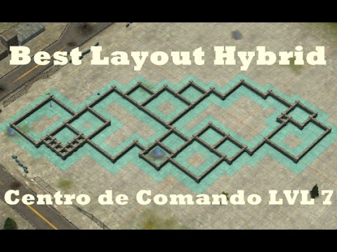 Call of Duty: Heroes - Command Center Level 7 - Best Hybrid Layout ...